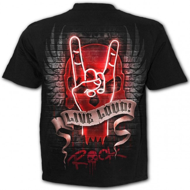 Spiral Direct-Live Loud T-Shirt