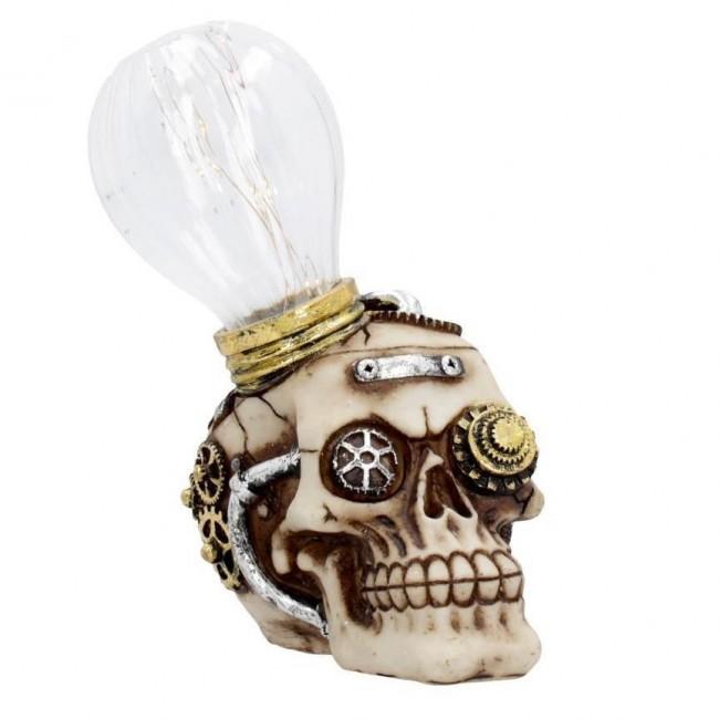 Nemesis Now-Bright Idea Skull