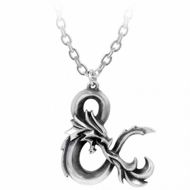 Alchemy Gothic-Dungeons and Dragons Pendant