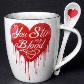 You Stir My Blood Mug Set