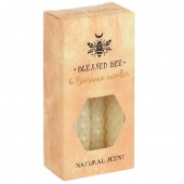 Cream Beeswax Spell Candles