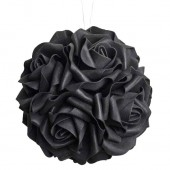 Black Rose Hanging Ball