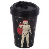 Stormtrooper Santa Christmas Travel Mug