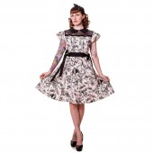 Bats And Butterflies Dress