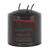 Vampire Tears Small Pillar Candle