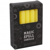 Yellow Success Spell Candles