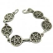 Pentagram Chain Bracelet