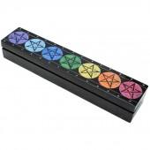 Pentagram Soapstone Incense Box