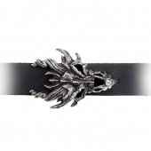 Dragon Skull  Leather Wrist Cuff