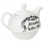Freaks Like Me Tea Set