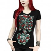 Blooming Skeleton T-shirt