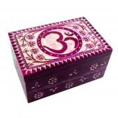 Om Soapstone Box