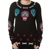 Colourful Skull Jumper