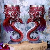 Dragon's Devotion Twin Goblet Set