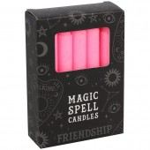 Pink Friendship Spell Candles