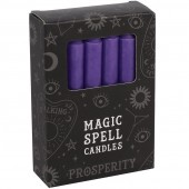 Purple Prosperity Spell Candles