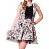 Bats And Butterflies Ruffle Dress