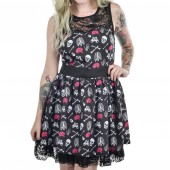Ribcage Lace Dress