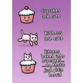 Kittens & Cupcakes Poster