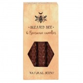 Brown Beeswax Spell Candles