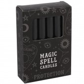 Black Protection Spell Candles