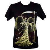 Winged Grim Reaper T-shirt