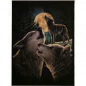 Wolf Song Canvas