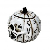 Pumpkin Skull Mini Ornament