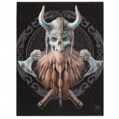 Viking Skull Canvas