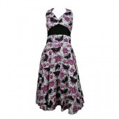 Mia Butterfly Skull Dress