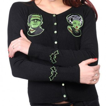 Banned Apparel-Bride Of Frankenstein Cardigan