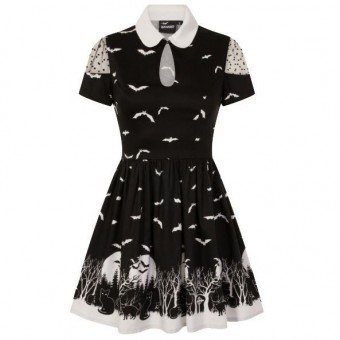 Banned Apparel-Spooky Woodland Dress