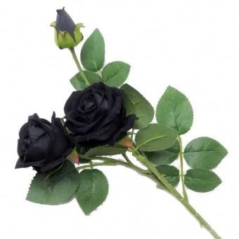 Alchemy Gothic-Black Rose Spray