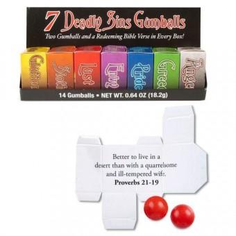 Archie McPhee-Seven Deadly Sins Gumballs