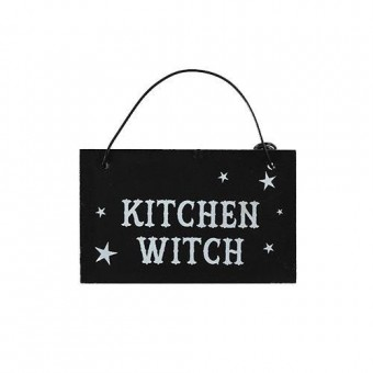 Phoenixx Rising-Kitchen Witch Witchy Mini Sign