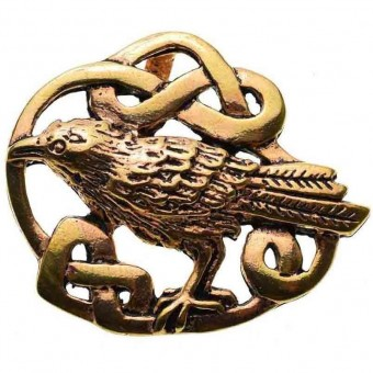 Lisa Parker-Celtic Raven Knot Work Pendant