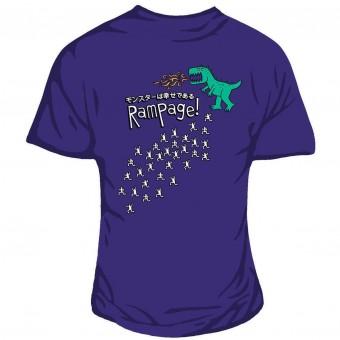 Genki Gear-Godzilla Rampage T-shirt