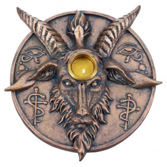 -Baphomets Prayer Incense and Candle Holder