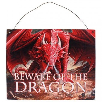 Anne Stokes-Dragons Lair Sign