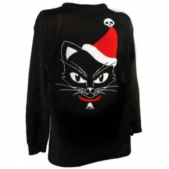 -Christmas Cat Jumper