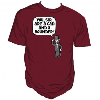 Genki Gear-You Sir Are A Bounder T-shirt
