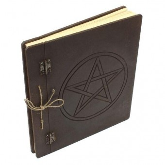Crystal Magick-Wiccan Pentagram Journal
