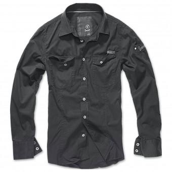 -Black Slim Shirt