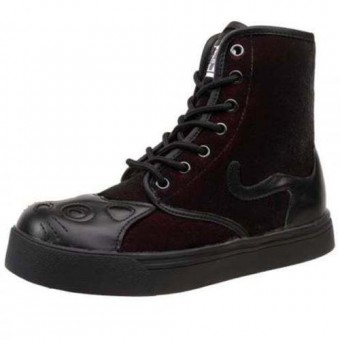 T.U.K. Footwear-Kitty Sneaker Boots