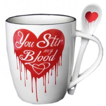 Alchemy Gothic-You Stir My Blood Mug Set