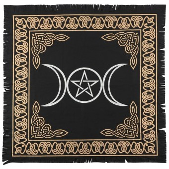 -Triple Moon Altar Cloth