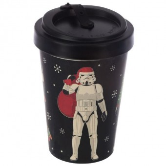 Phoenixx Rising-Stormtrooper Santa Christmas Travel Mug