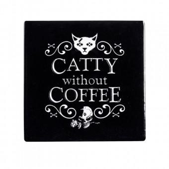 Alchemy Gothic-Catty Without Coffee Coaster