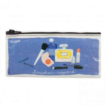 Blue Q-Toucher Uppers Pencil Case