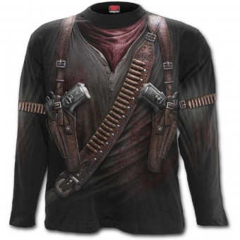 Spiral Direct-Holster Wrap Long Sleeved T-shirt